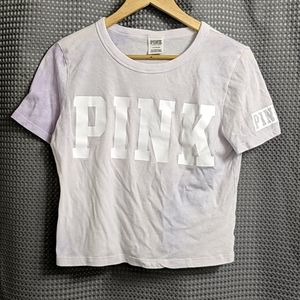 Pink by Victoria's Secret Tie Dye Crop Top